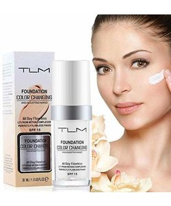 TLM Foundation® -  Immer die perfekte Foundationfarbe!