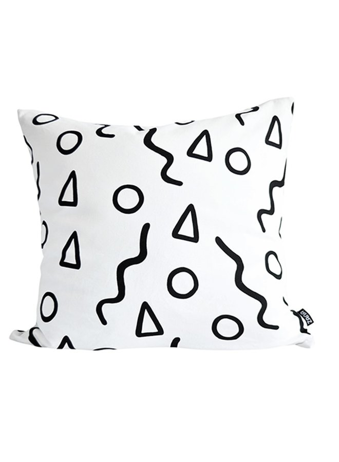 Cushion cover XL Shapes 60x60cm