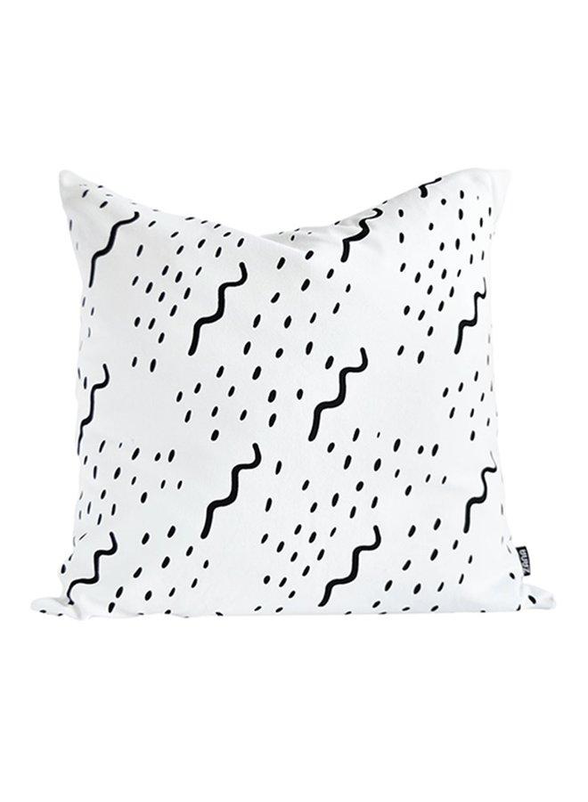 Cushion cover XL Waves, 60x60 cm