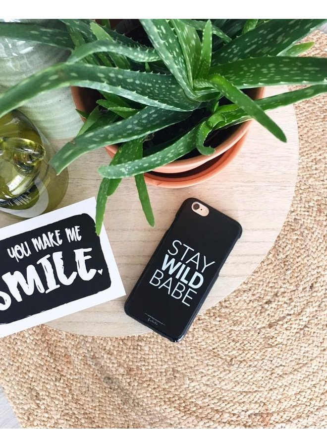 """Phone cover """"Stay Wild Babe"""" for iPhone 6(S)"""