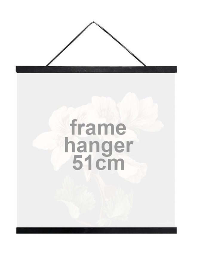 Posterhouder zwart  | 51 cm