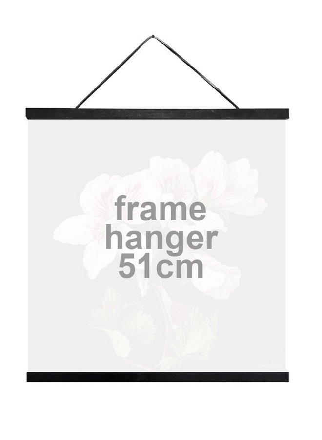 Frame Hanger, wood, black | 51 cm