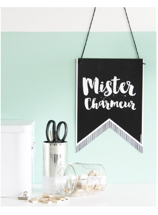 Wall Banner Miss - Mister | A4