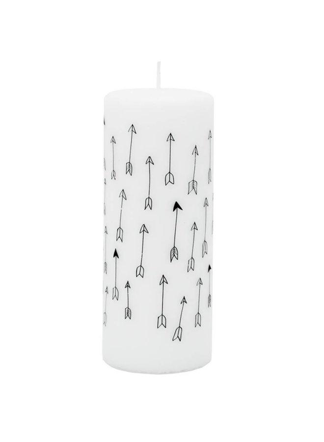 Candle Arrows,  ø6xh15cm