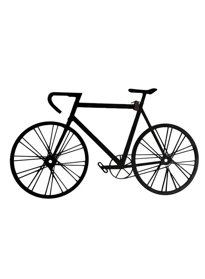 Wooden wall decoration Racing Bike