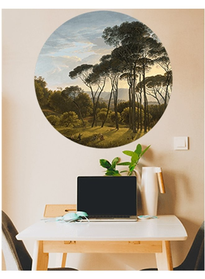 Wall Circle Forrest