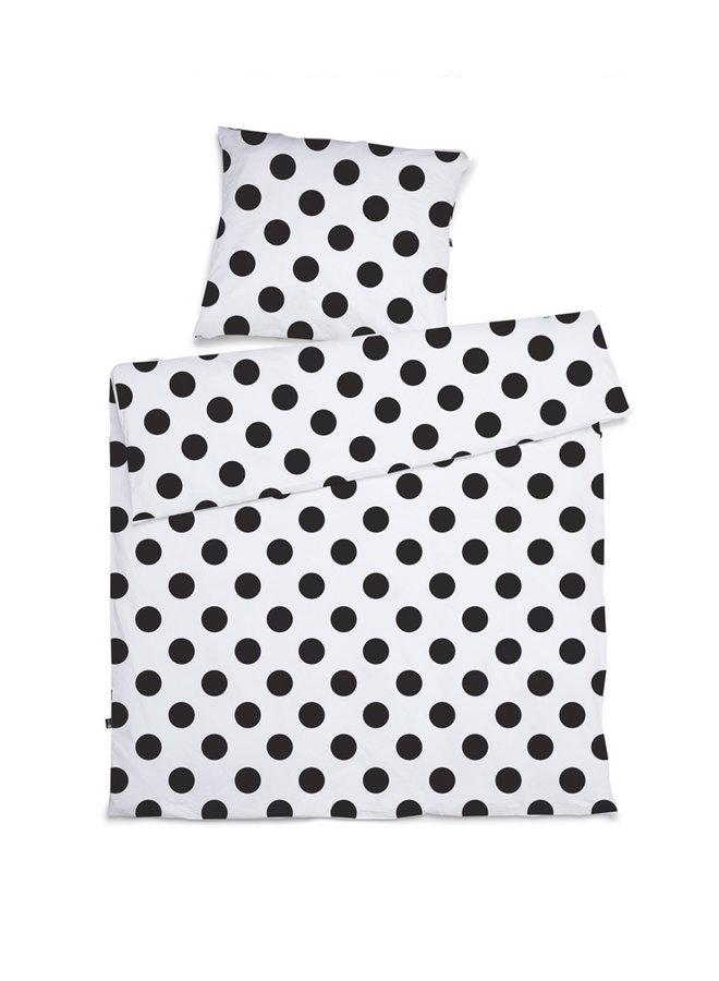 Duvet cover and pillowcase Junior bed Polka dots