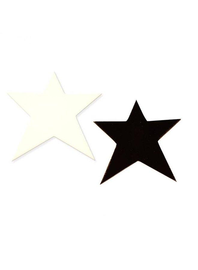 Hooks Stars black and white set/2
