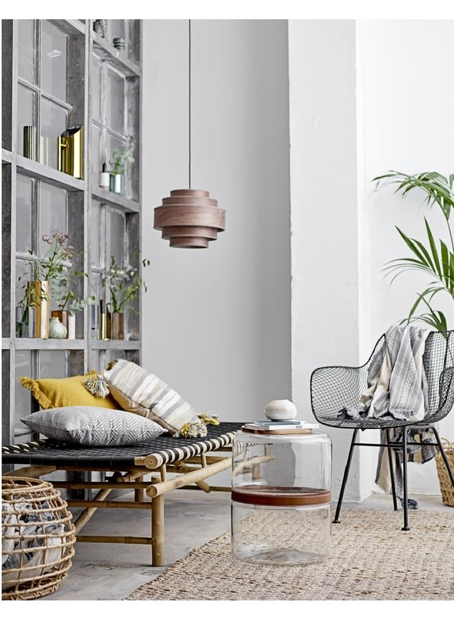Cushion, Multi-color, Cotton, 50x50cm