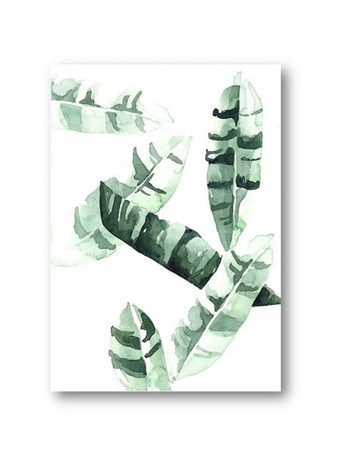 Poster Banana leaves