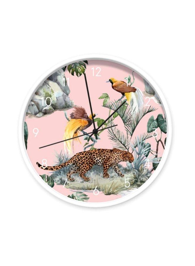 Klok Leopard & Birds