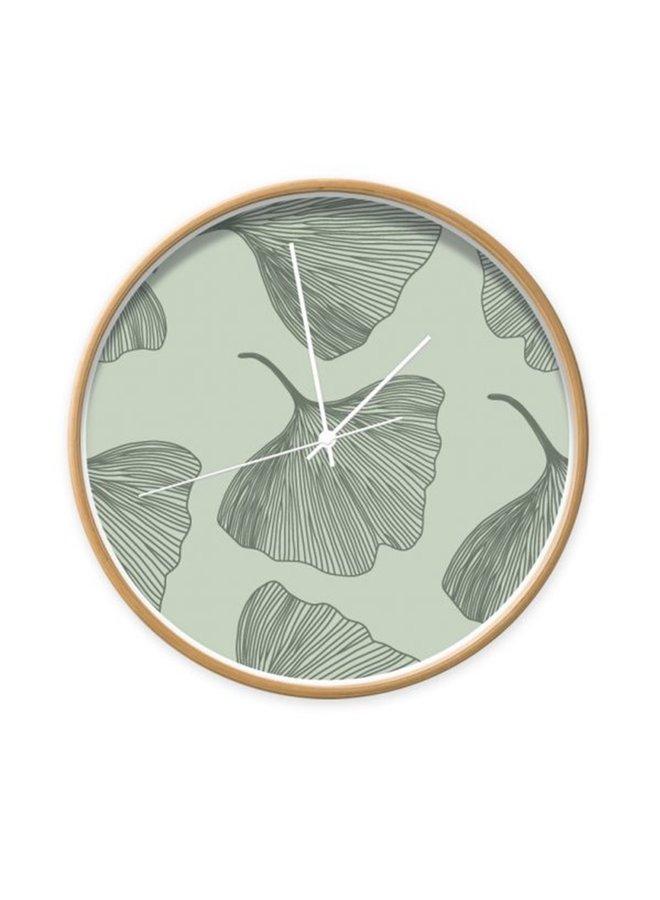 Clock Ginkgo leaves