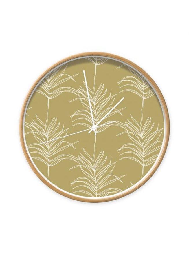 Clock Palm leafs