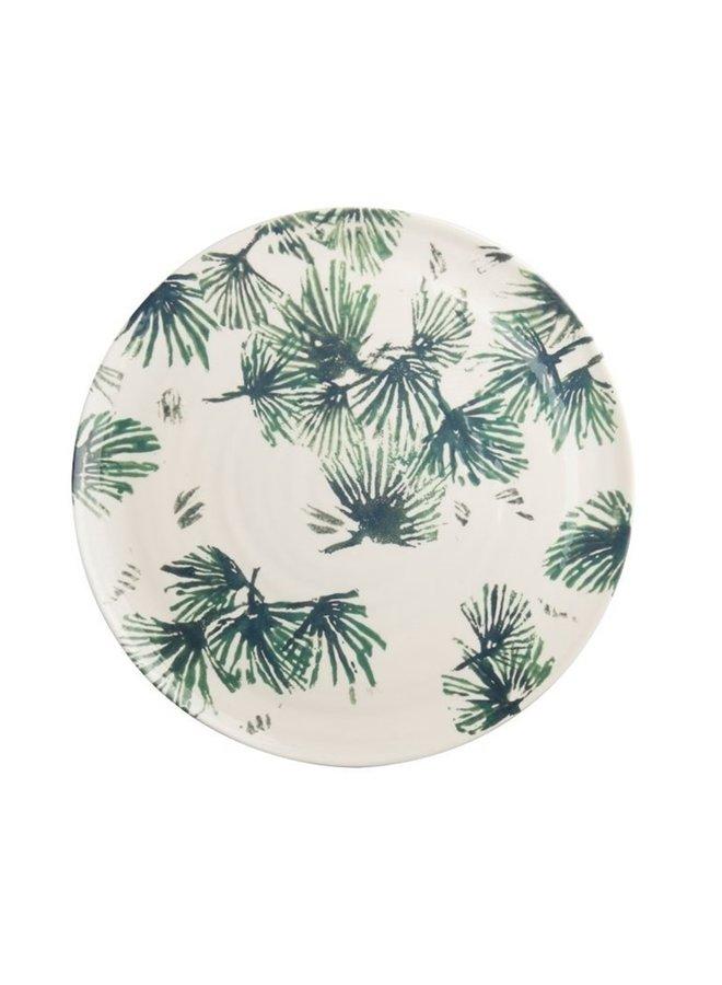 Serving Plate Leaves  ø36cm
