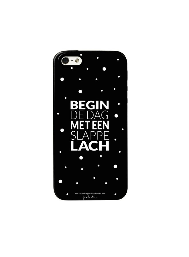 "Phone cover ""Slappe lach"" Samsung S7"