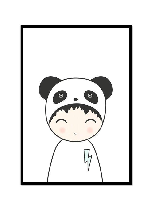 Poster Boy Panda   | A3
