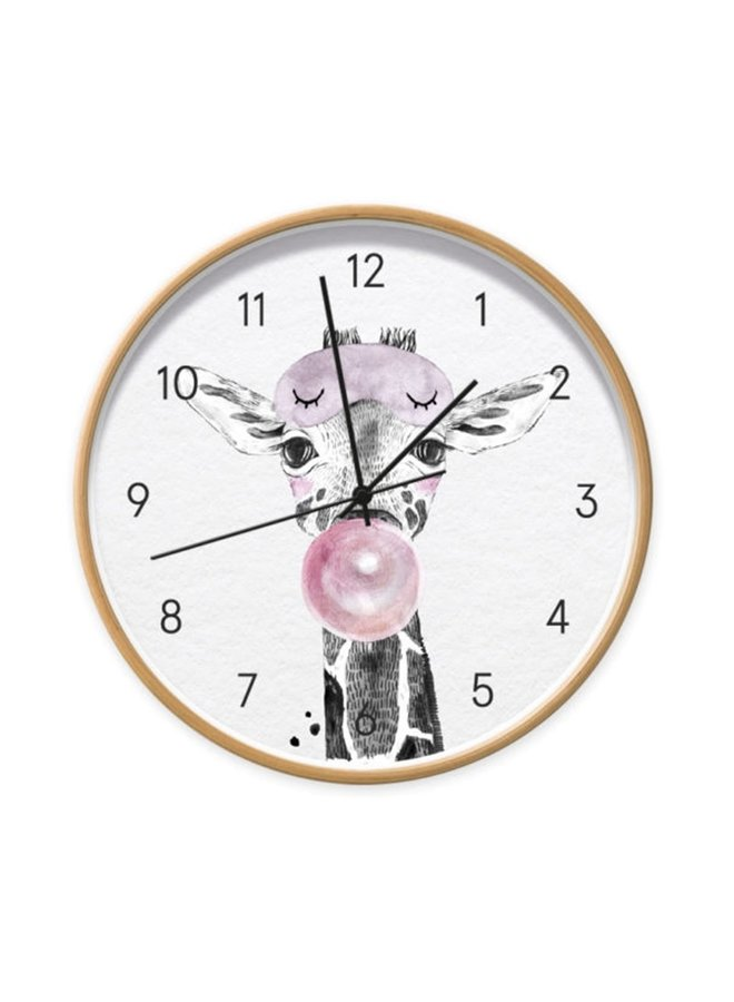 Children's clock Baby Giraffe