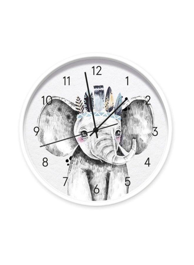 Children's clock Baby Elephant