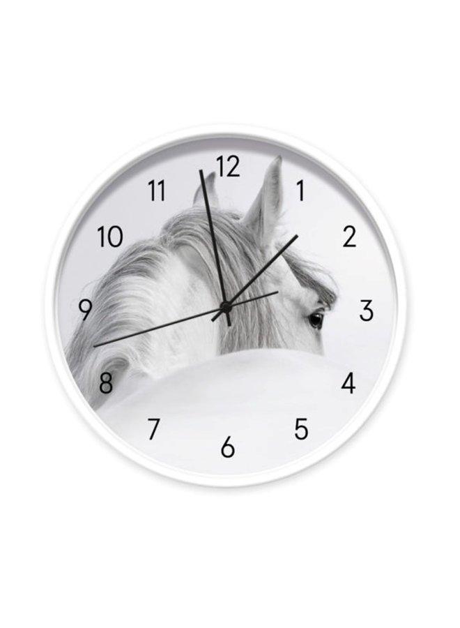 Children's clock White Horse