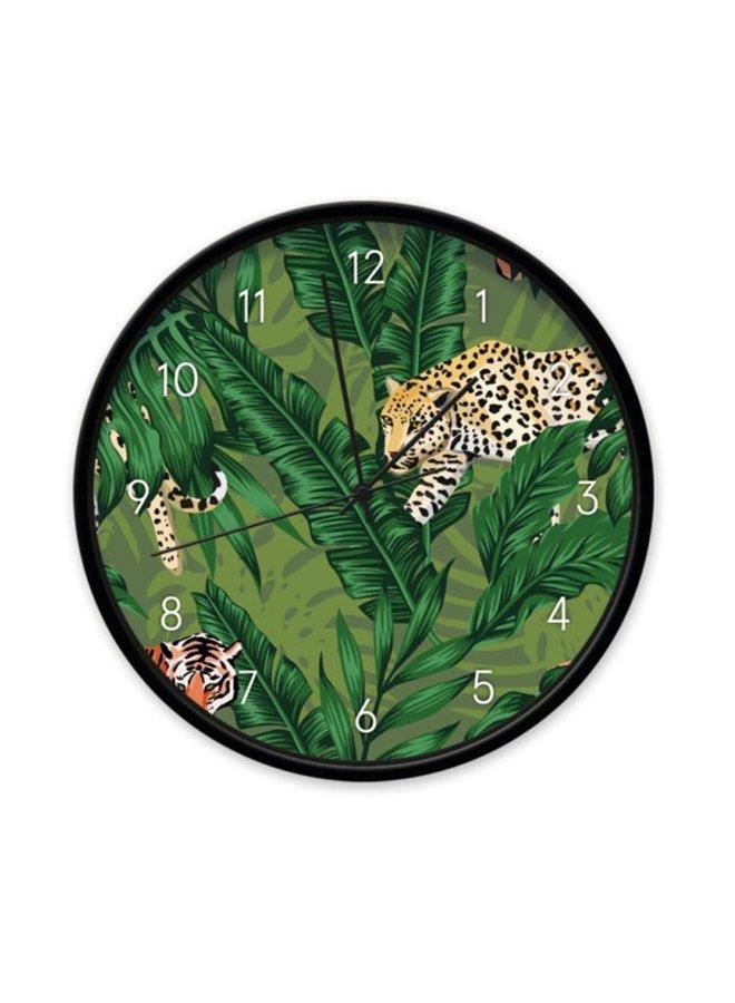 Children's clock Jungle