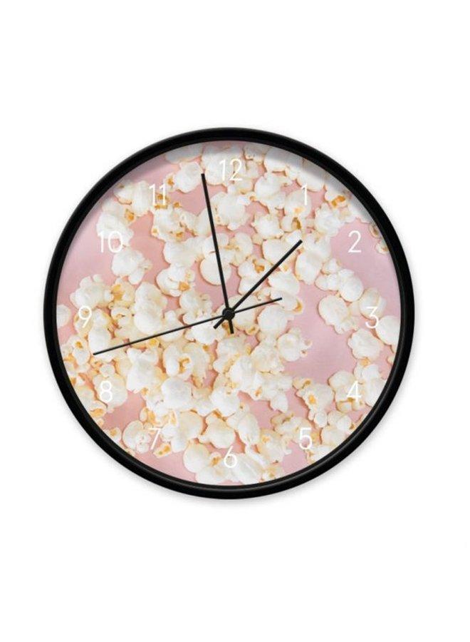 Popcorn clock pink