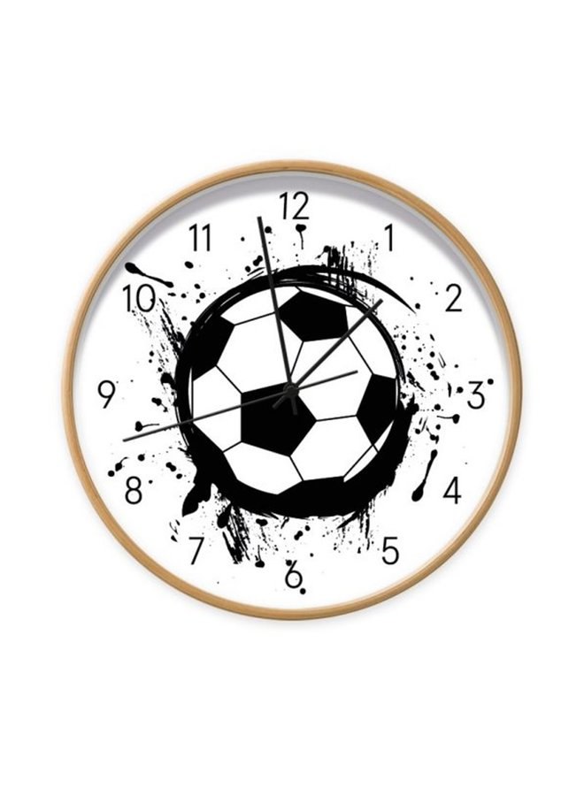 Children's clock football