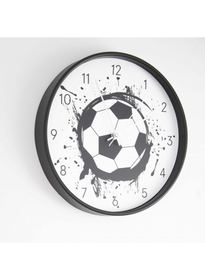 Toffe Voetbalklok in zwart-wit