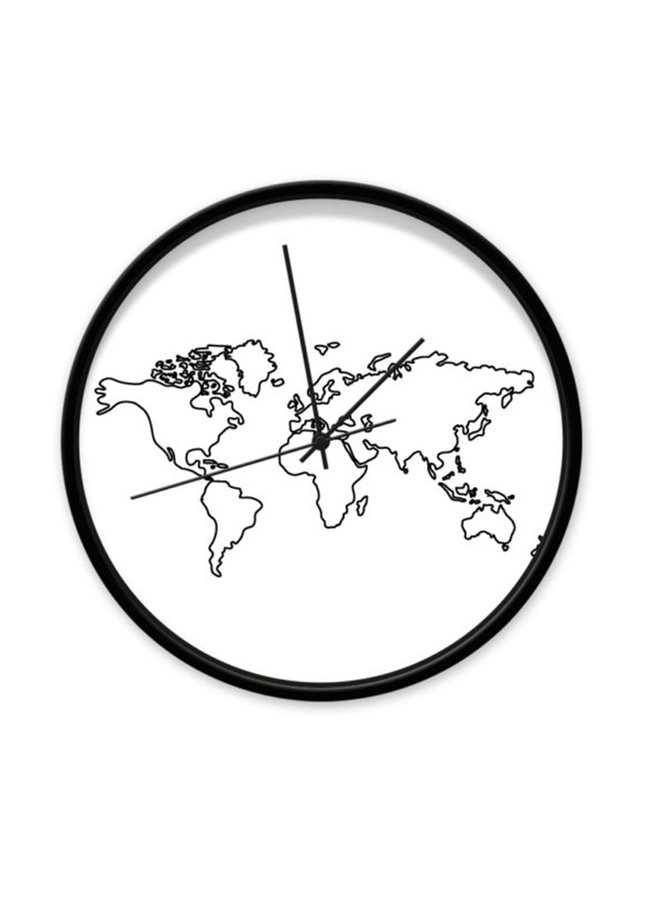 Clock World Map