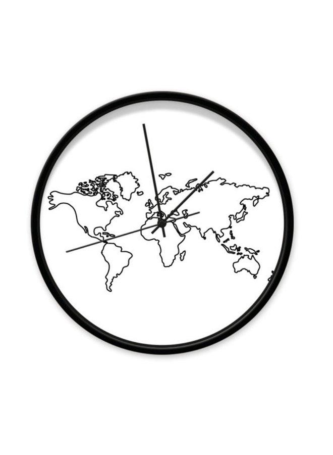 Klok Wereldkaart