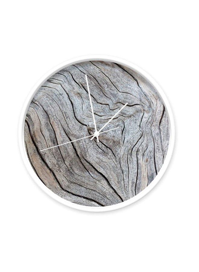 Klok oud hout