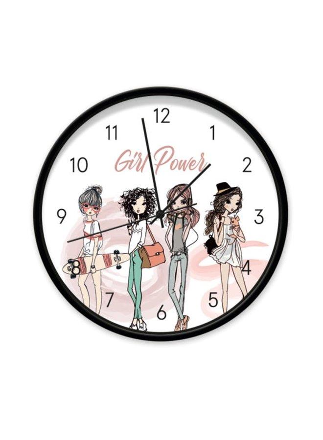 Clock Girl Power