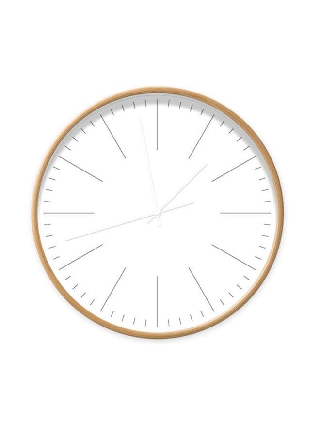 Klok wit strepen