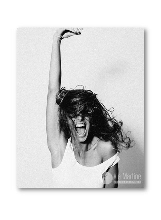 Poster Woman Shout