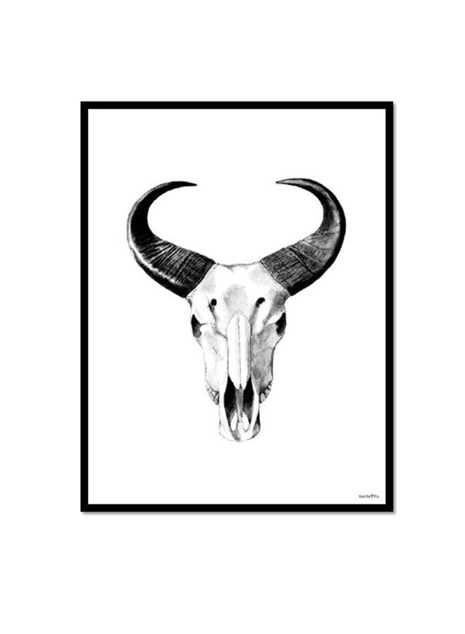 Poster African Bull  | 20x25 cm