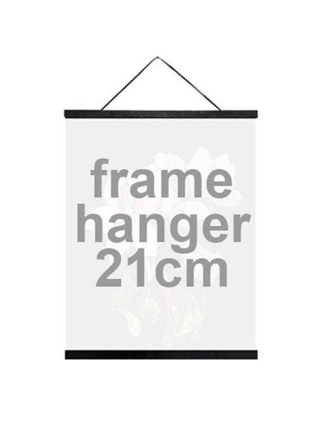 Posterhouder zwart  | 21cm