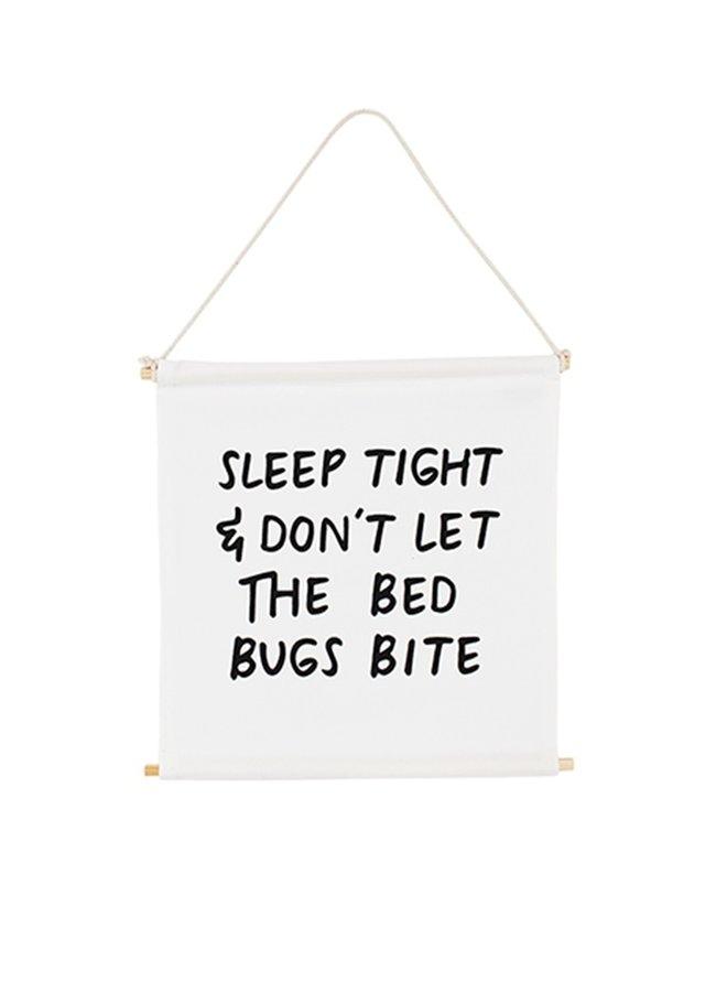 Muurvlag Sleep Tight