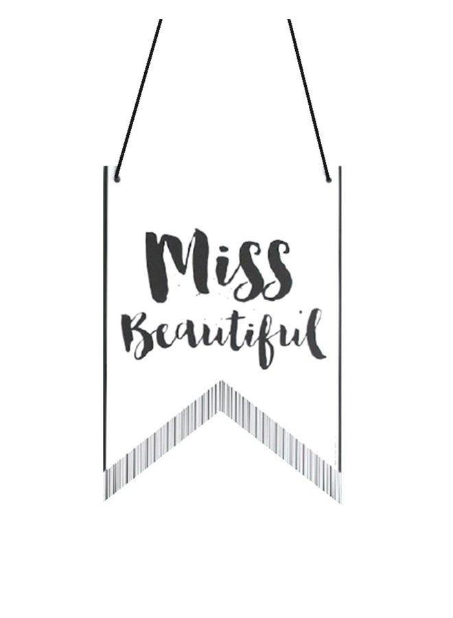 Vlag Poster Miss - Mister