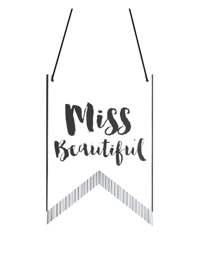 Wall Banner Miss - Mister