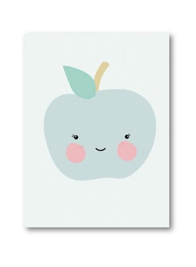 Poster kids Mr Apple | A3