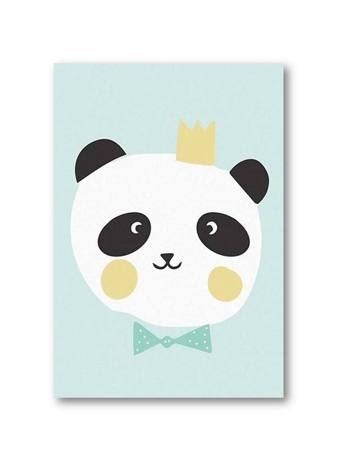 Poster kids King Panda | A3