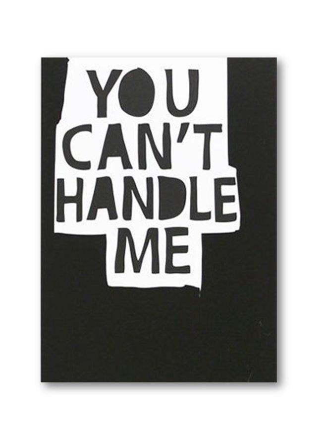 My Deer Art Kaart You can't handle me | A5