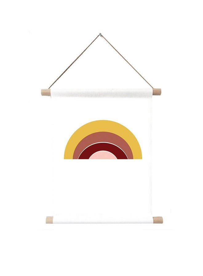 Textile poster Rainbow