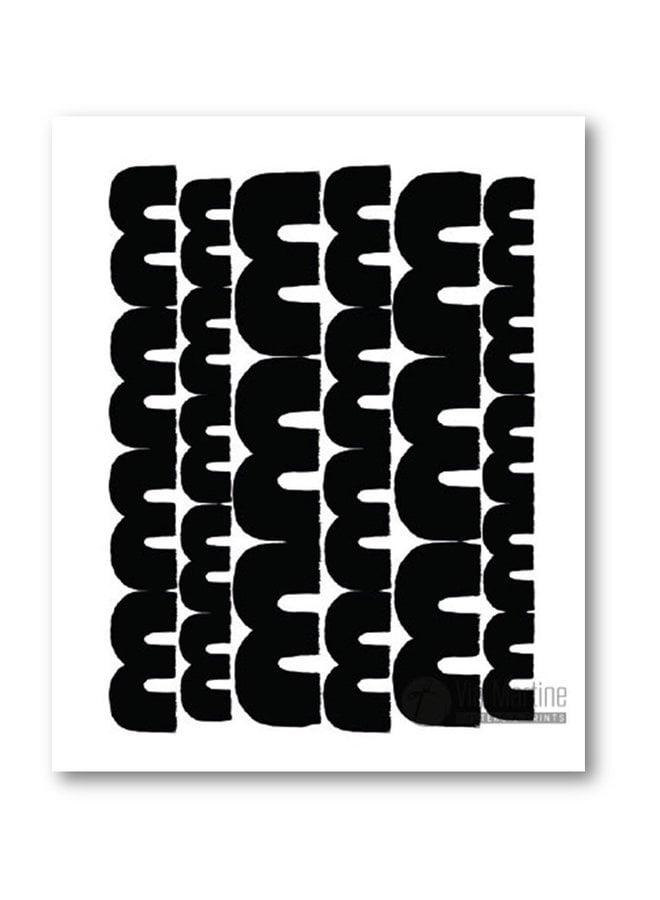 Poster illustration print The Deep