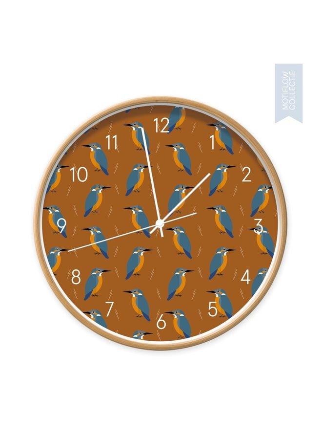 Children's Clock Kingfishers everywhere