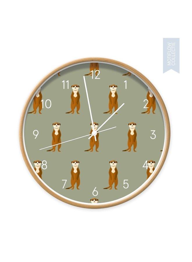 Clock Meerkats all around