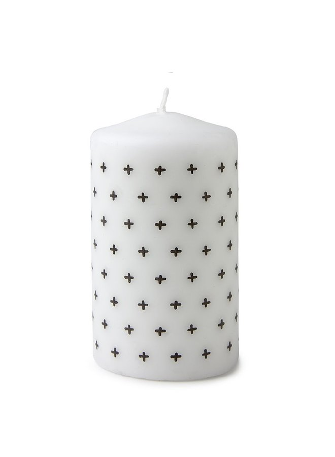 Candle with plus pattern