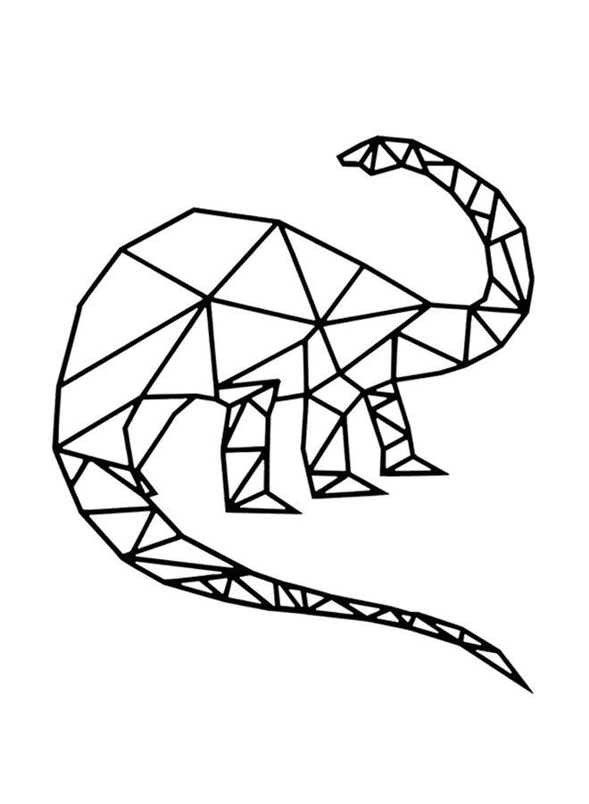 Geometrie Brontosaurus