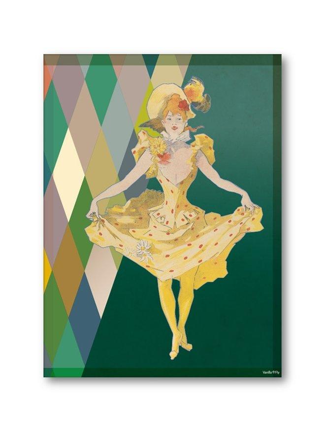 Poster La danseuse 30x40cm