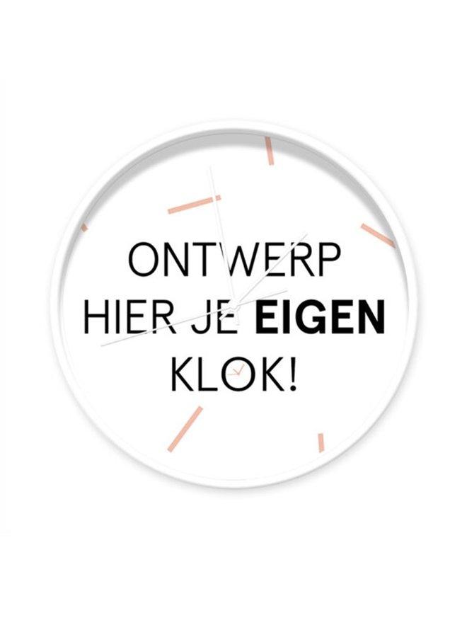 Clock Custom made - design your own personal clock