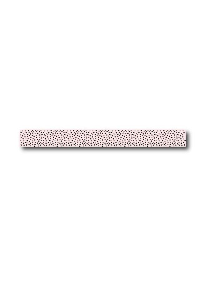 Masking Tape pink black